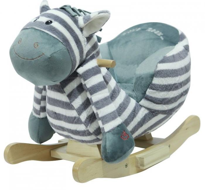 Houpací zebra s melodii