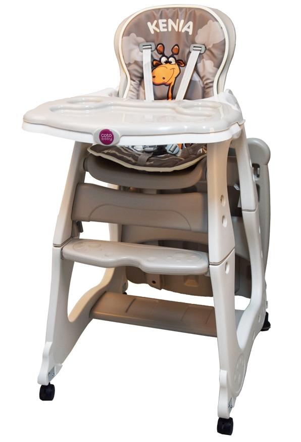 Jídelní židlička KENIA 2018 - béžová