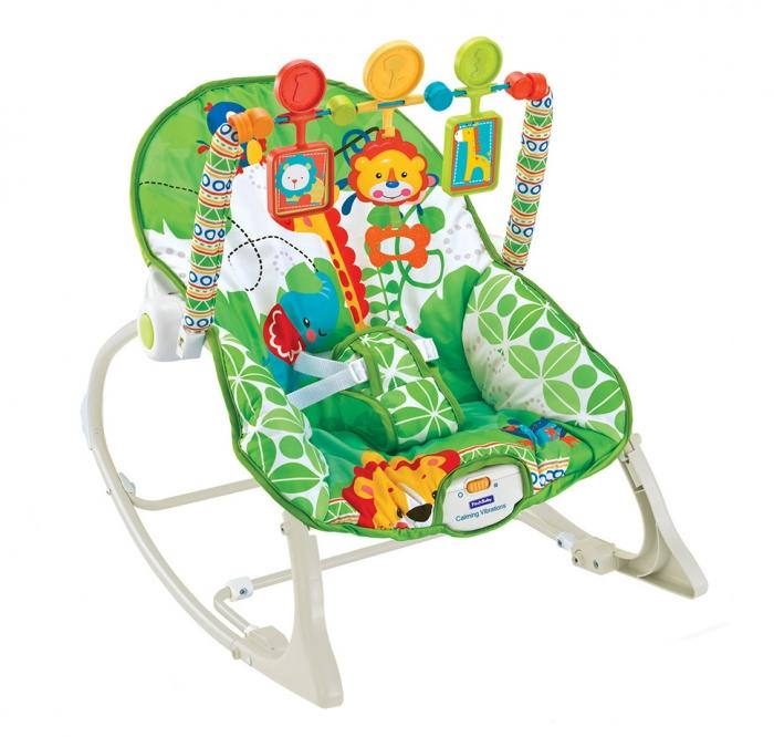 Eco toys Lehátko s vibrací a hudbou - ANIMAL