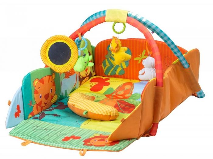 Vzdělávací hrací deka ECO TOYS - Veselý cirkus