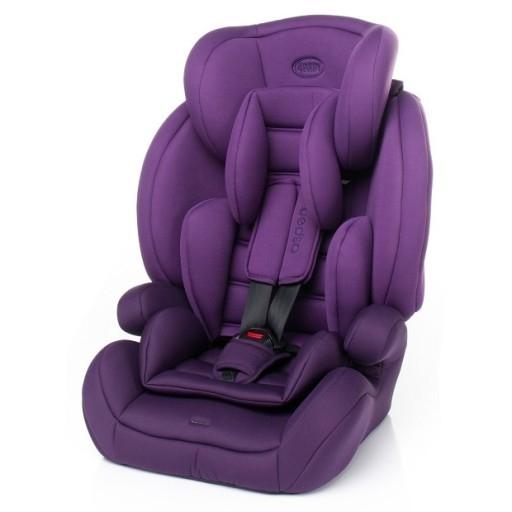 4 BABY Autosedačka 2018 ASPEN 9-36 kg - fialová