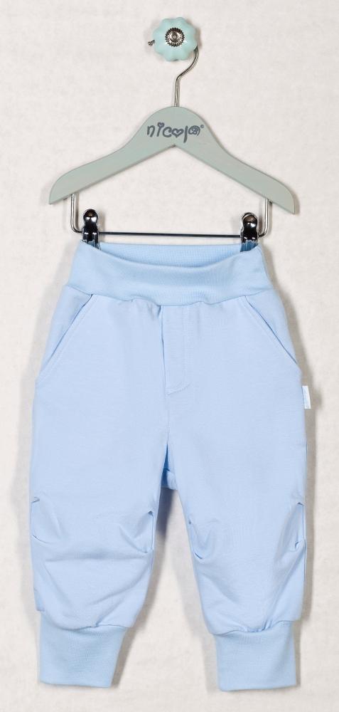Tepláčky, kalhoty OCEÁN - sv. modré, roz. 74