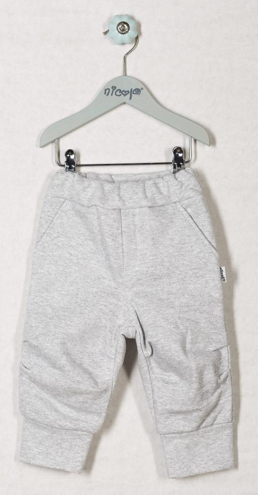 Tepláčky, kalhoty ŽELVIČKA - šedé, roz. 86