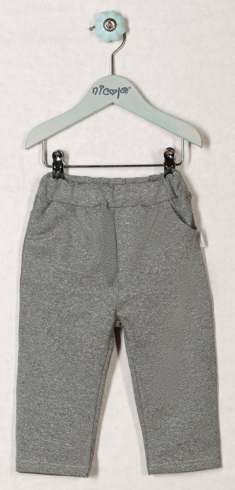 Tepláčky, kalhoty WESTERN - šedé, roz. 68