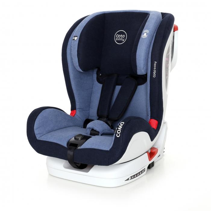 Autosedačka 9-36kg Como Isofix 2018 - Blue/Melagne