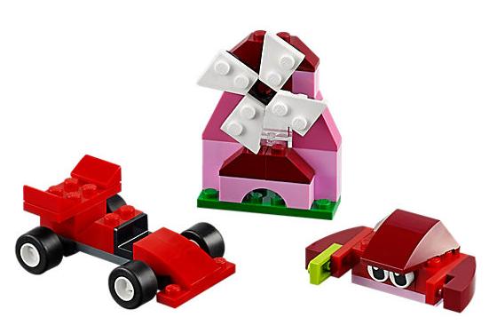 Lego Classic Červený kreativní box malý - 55 ks