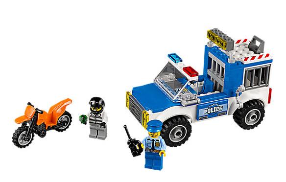 Lego Juniors Honička s policejní dodávkou - 90 ks