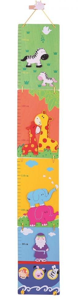 Dětský skládací dřevěný metr - Noemova archa