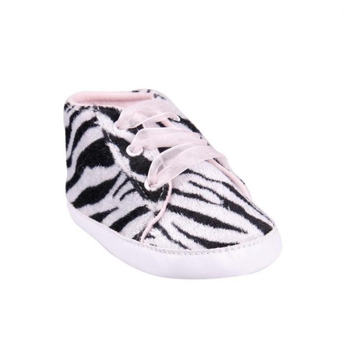 Capáčky, tenisky Zebra - černé