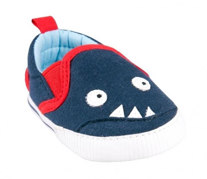 Capáčky, tenisky Monster - tm. modré