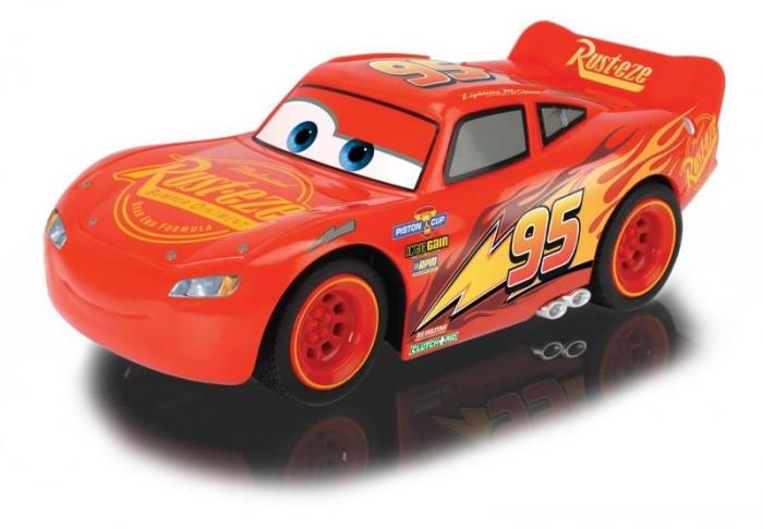 Auto RC Cars 3 Turbo Racer Blesk McQueen 1:24, 17cm, 2kan