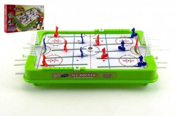 Hokej stolní společenská hra plast v krabici 37x22cm