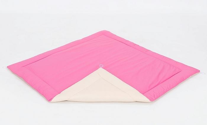 Podložka do stanu pro děti teepee, týpí - béžový/ tmavě růžový