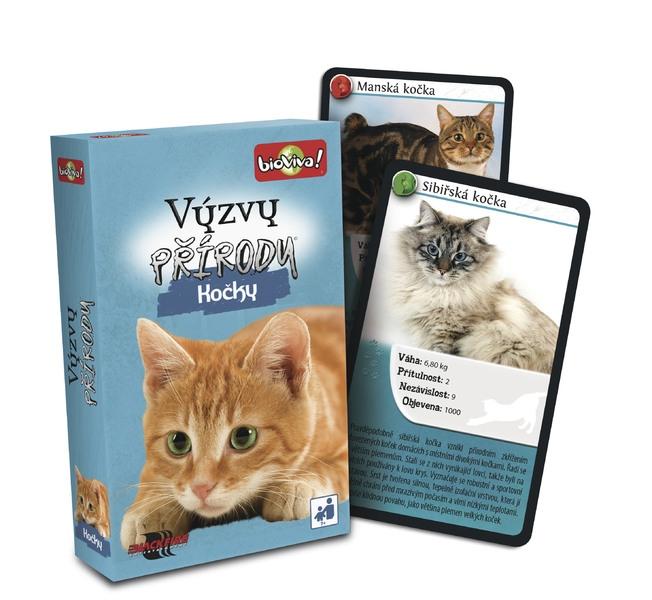 Hra Výzvy přírody - Kočky