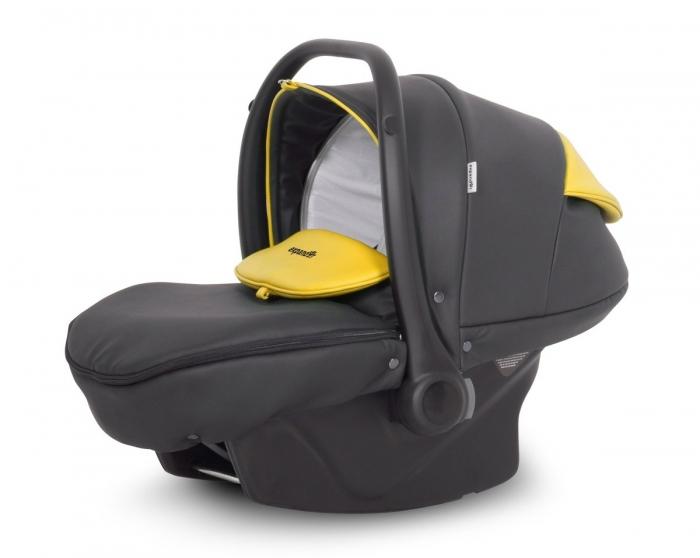 Autosedačka, vajíčko Enduro Expander 2018, 0+ - yellow