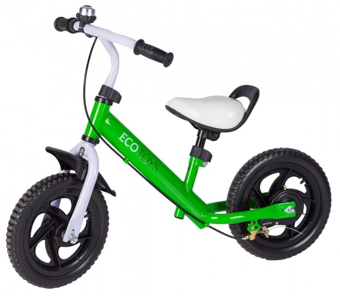 Odrážedlo s brzdou, kolo - zelené