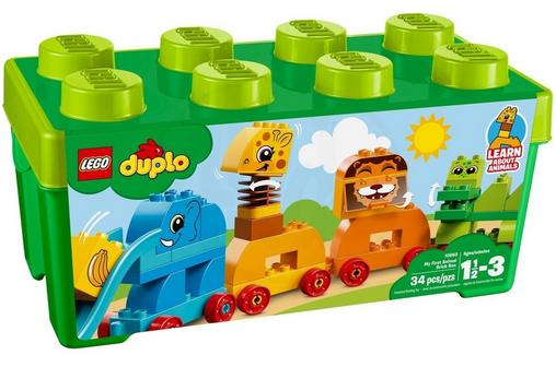 Lego Duplo - Vláček se zvířátky