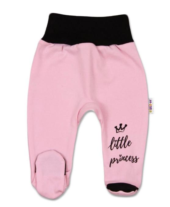Kojenecké polodupačky, růžové, vel. 68 - Little Princess