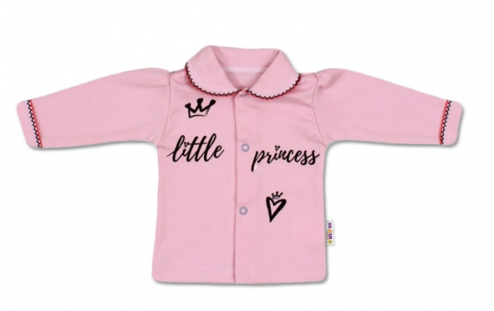 Bavlněná košilka Little Princess - růžová, vel. 62