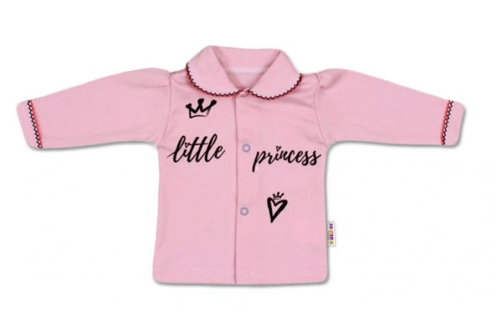 Bavlněná košilka Little Princess - růžová, vel. 68