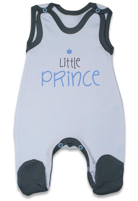 Kojenecké bavlněné dupačky, Malý princ - modré, vel. 68