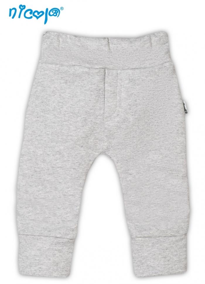 Tepláčky/kalhoty Pejsek - šedé, vel. 68