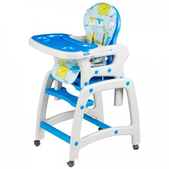 Jídelní stoleček 2v1 - modrý