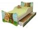 Dětská postel a šuplík/y Medvídek