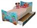 Dětská postel a šuplík/y Oceán