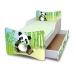 Dětská postel a šuplík/y Panda