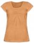Kojící,těhotenské triko KARIN - oranžové