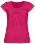 Kojící,těhotenské triko KARIN - sytě růžové