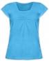 Kojící,těhotenské triko KARIN - tyrkys
