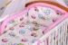 Bavlněné povlečení Baby Dreams Kolekce - Sovičky - růžové