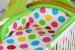 Mantinel s povlečením Kolekce BUBBLE - léto/zelený