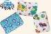 Houbička na mytí s froté obalem - klukovské barvy