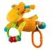Hračka nejen do kočárku se zvukem - Žirafka