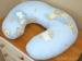 Kojící polštář - Žebřík modrý