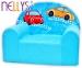 Dětské křesílko/pohovečka Nellys ® - Veselá autička v modrém