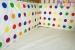 Mantinel do postýlky 40x360cm - Veselé puntíky