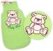 Spací vak Medvídek TEDDY Baby Nellys - sv. zelený vel. 0+