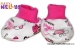 Botičky/ponožtičky Baby Nellys ® - Beruška