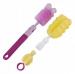 Sada kartáčů na mytí láhví Canpol Babies - různé barvy
