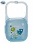 Pouzdro na dudlík - tyrkysové/modré RAKETY Canpol Babies