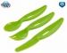 Plastový příbor Canpol Babies - zelený