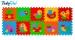 Pěnové puzzle Baby Ono - Zvířátka - 10 ks