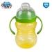 Canpol Babies Sportovní hrneček s úchyty - žlutý/zelený