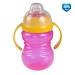 Canpol Babies Sportovní hrneček s úchyty - růžová/žlutá