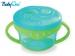 Miska na svačinku Baby Ono - modrá/zelená