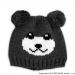 Zimní čepice PANDA - grafit